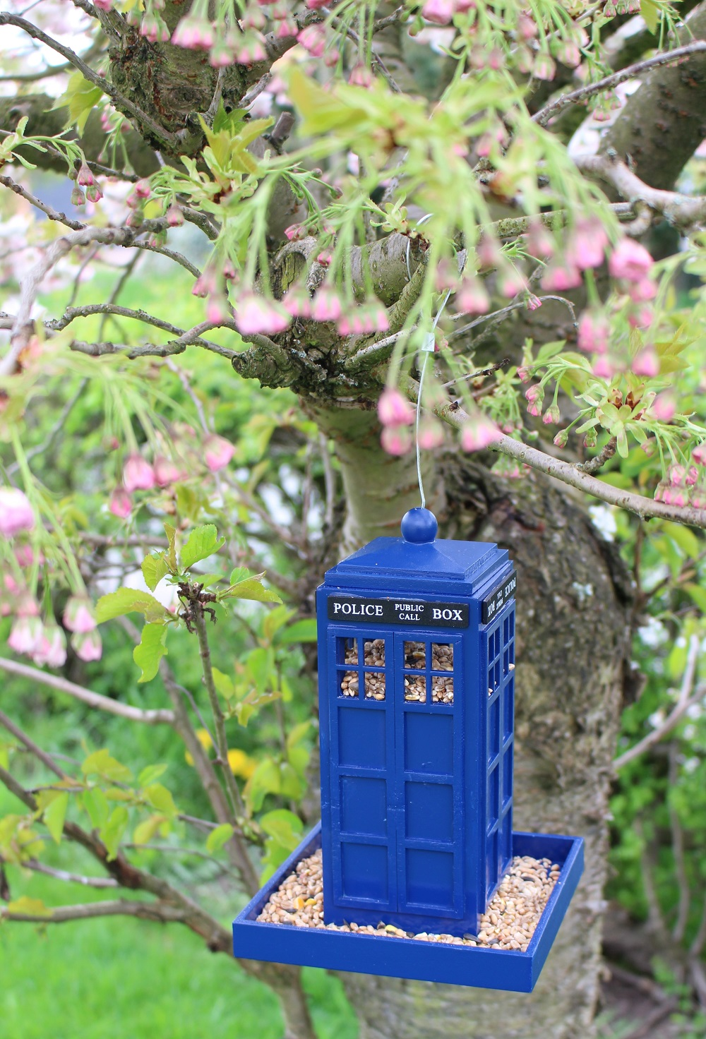Police Box Bird Feeder From Peach Perfect 3